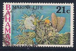 Bahamas, Scott # 409 Used Marine Life, 1977 - Bahamas (1973-...)