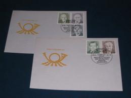 FDC DDR Ersttagsbrief Deutschland 1983 Verdienstvolle Persönlichkeiten Der Deutschen Arbeiterbewegung - FDC: Briefe