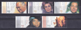 Germany 2000 ( Actors And Actresses - Federal Association Of Welfare Work ) - MNH (**) - Cinema
