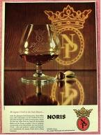 Reklame Werbeanzeige Von 1965 -  Noris Weinbrand  -  Ihr Eigenes Urteil Ist Der Beste Beweis  -  Von 1965 - Alkohol