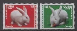 C* (2011)  - Set -  /  Conejo - Rabbit - China New Year - Lapin - Nouvel An Chinois