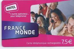 FRANCE MONDE - KERTEL - 7,5 € - Frankrijk