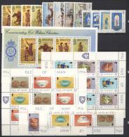 Man 1976 Annata Completa / Complete Year Set  **/MNH VF - Isle Of Man