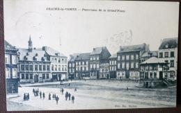 CPA -- Braine-le-Comte: Grand' Place. 1912 ? TRES ANIME - Braine-le-Comte