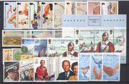 Man 1986 Annata Completa / Complete Year Set  **/MNH VF - Isle Of Man