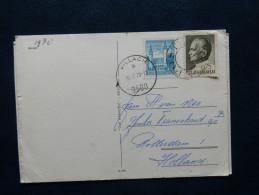 32/395A   CP  TIMBRE JOEGOSLAVIE + AUTRICHE POUR HOLLAND 1970 + OBL. VILLACH - 1961-70 Covers