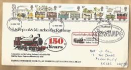 - 3489 - 150  YEARS  RAILWAY - 1971-1980 Em. Décimales