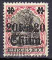 Deutsche Post In China Mi 42, Gestempelt [170613VI] @ - Bureau: Chine