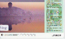 Carte Prépayée  Japon * TRAIN * IO * CARD  (3718) Japan Prepaid Card * ZUG * TREIN * JR * IO * Montagne - Montagnes