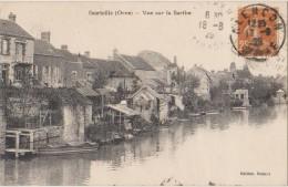 CPA 61 COURTEILLE Vue Sur La Sarthe 1929 - France
