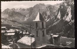 CPSM Neuve SAINT VERAN  Le Temple Au Fond La Tête De Longet - Autres Communes