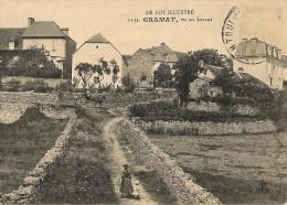 GRAMAT    ,vu Au Levant - Gramat