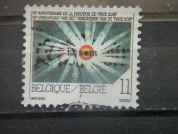 """BELGIUM, 1993 Used 11fr, """"Faux Soir,"""", Scott 1509 - Belgium"""