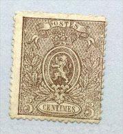 25  Neuf Sans Colle Et Petit Défaut   Un Bon Bouche Case Cote 300 E - 1866-1867 Coat Of Arms