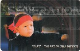 BRUNEI(chip) - Silat-The Art Of Self Defence, Zippi Telecard $10, Used - Brunei