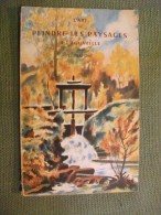 Art De Peindre Les Paysages à L'aquarelle Fraipont 1950 Art Peinture - Art