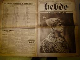 30 Septembre 1928   HEBDO TSF Le Grand Ténor SULLIVAN; Canot Automobile Dirigé Par T.S.F; Haut-Parleur Curieux; MARCONI - Kranten
