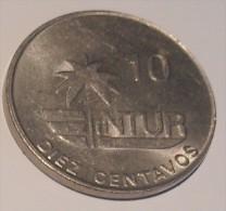 Kuba Intur 10 Centavos 1981 XF+ - Cuba