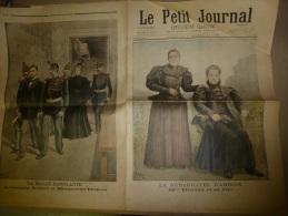 1896 LE PETIT JOURNAL : La Malle Sanglante;  Les Réhabilités D´ AMIENS - Kranten