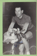 Georges ROUX, Champion De Paris, Autographe Manuscrit, Dédicace. 2 Scans. Photo Picoche - Cyclisme