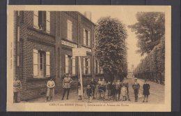 02 - Crécy Sur Serre - Gendarmerie Et Avenue Des Ecoles - France