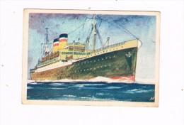 Hooimeijer & Zonen N.V Oceaanreuzen 80 De Hamburg - Trade Cards