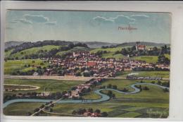 8340 PFARRKIRCHEN, Ortsansicht, Künstler-AK EUG: FELLE, ISNY 18, 1923 - Pfarrkirchen