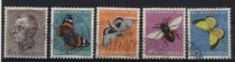 Schweiz Michel No. 550 - 554 gestempelt used