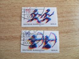 """Berlin 1979  Mi. Nr. 596 - 597  O / Gestempelt     """" Sporthilfe """" - [5] Berlin"""