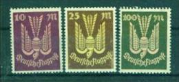 DEUTSCHES REICH  235-237   Flugpostmarken   Postffrisch  **  (94d) - Ongebruikt
