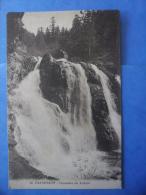 65-CAUTERETS Cascade Du Lutour , Circulée En 1928 , 2 Scans - Cauterets
