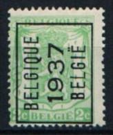 België PRE 319 A** Belgique 1937 België - Préoblitérés