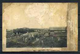 CENTRE HOSPITALIER En 1917 Un Jour D'évacuation Par Chemin De Fer . Voir Recto Verso   (R957) - Guerre 1914-18