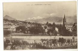 ANNEMASSE. - Vue Générale Et Le Mont-Blanc - Annemasse