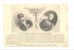 Armée Belge - Le Commandant Cassart De Warsage Du Rgt De Chasseurs De Charleroi, S'illustra Au Congo Belge (Y275)hon - Personnages