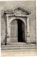Bailleau Le Pin - Eglise - Le Portail - France