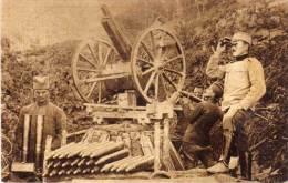 BOSNIE - SARAJEVO - U Borbi Za Oslibodjenje - Guerre 1914/18 -  Soldats Et Canon      (57363) - Bosnie-Herzegovine