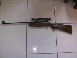 Carabine A Plomb 4.5 (177)  MANU-ARM ( France) - Decorative Weapons