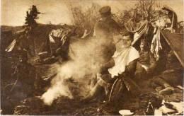 BOSNIE - SARAJEVO - U Borbi Za Oslibodjenje - Guerre 1914/18 - Scène Autour Du Feu     (57379) - Bosnie-Herzegovine