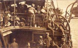 BOSNIE - SARAJEVO - U Borbi Za Oslibodjenje - Guerre 1914/18 - Soldats Sur Bateau     (57381) - Bosnie-Herzegovine