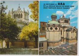 ARS - La Basilique - Lot De 3 CPM - Ars-sur-Formans