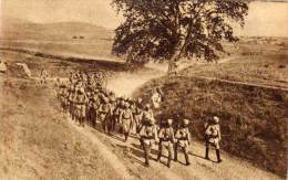 BOSNIE - SARAJEVO - U Borbi Za Oslibodjenje - Guerre 1914/18 - Soldats En Défilé    (57383) - Bosnie-Herzegovine