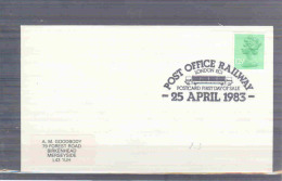 Great Britain - Post Office Railway -  London 25/4/1983 (RM1669) - Trains