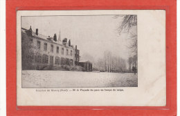 MARCQ-en-BAROEUL (59) / ECOLES / COLLEGES / Collège De Marcq / Façade Du Parc En Temps De Neige / Précurseur - Marcq En Baroeul