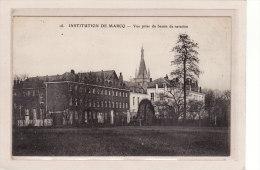 MARCQ-en-BAROEUL (59) / ECOLES / INSTITUTIONS / RELIGIONS / Vue Prise Du Bassin De Natation - Marcq En Baroeul