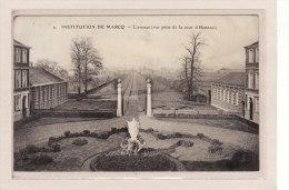 MARCQ-en-BAROEUL (59) / ECOLES / INSTITUTIONS / RELIGIONS / L'avenue (vue Prise De La Cour D'Honneur) - Marcq En Baroeul