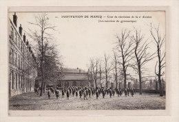 MARCQ-en-BAROEUL (59) / ECOLES / INSTITUTIONS / RELIGIONS / SPORTS / GYMNASTIQUE / Cour De Récréation De La 2e Division - Marcq En Baroeul