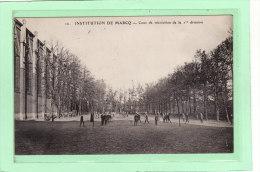 MARCQ-en-BAROEUL (59) / ECOLES / INSTITUTIONS / RELIGIONS / Cour De Récréation De La 1ere Division - Marcq En Baroeul