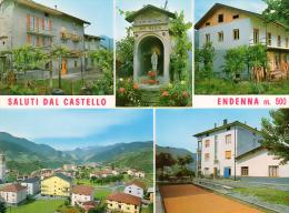 ENDENNA (BG) - SALUTI DAL CASTELLO - VEDUTINE - F/G - N/V - Bergamo
