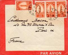 MAROC ENVELOPPE LATECOERE DEPART RABBAT POUR PARIS - Marokko (1891-1956)